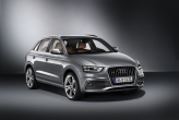 With claims to have the sportiest drive among compact SUVs, the Audi Q3 will have a four-link rear suspension, responsive steering and an optional Audi drive select system. The system works by accessing the accelerator and steering positions, it allows the driver to choose between comfort, auto, dynamic and efficiency modes. It also comes with an electronic differential lock, which works with an electronic stabilisation program to regulate the distribution of drive torque to the wheels.