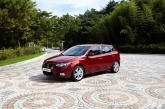 As well as its all-new body shape, the new Forte Hatchback (the official name for the 5-door model) introduces styling, equipment, refinement and technical improvements, which are also featured on the new 2011 Forte sedan and two-door Koup models introduced last December. These include six-speed transmission with paddle shifters, boot-type gear shift, LED side repeaters, and integrated blue-tooth. Technically similar to its sedan and Koup sister cars, the new Forte hatchback has the same overall width, height and wheelbase as the sedan. The difference lies in the reduction of 190 mm in the rear overhang, therefore the five-door model is 4,340 mm long. Despite its more compact dimensions, the hatchback's cargo volume of 385 litres (VDA) is highly competitive in its class.