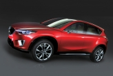 Unlike many concepts, Mazda has announced that it will be put into production together with the Skyactiv technologies that were featured on the Minagi concept. Designed to deliver driving pleasure with environmental friendliness, the CX-5 will deliver its power from a Skyactiv engine and transmission. The chassis will feature substantial weight reduction without sacrificing safety features.