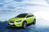 "The hexagonal design remains consistent throughout the concept. Subaru claims that the wheel arch cladding and black metallic highlights help to reinforce the ""Protren"" theme. Inside, the concept features sporty mesh materials and funky design details to create a sporty, yet stylish feel."