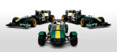 After Lotus ended production of the Seven in 1972, Caterham bought the rights to make both kits and fully assembled cars based on the original design. Today, the Seven is arguably the benchmark for the perfect balance between power and intuitive, user-friendly handling, and remains as one of the most raced cars in the world.