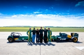 This exciting new era for Caterham will be led by the company's existing management team, headed up by Caterham Cars Managing Director, Ansar Ali. Ansar has been responsible for Caterham's exports, creating the iconic Superlight R500 and the SP/300.R sports prototype racer, the first brand new model in 15 years.