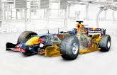 From the early stages during the off-season, the team's Formula One car is developed entirely in Siemens' NX software, based on functional requirements and the ever changing Formula One regulations. The model proceeds to outline structure where the Red Bull Racing design team has approximately 150 workstations running NX, to develop geometric part models for the entire vehicle. The NX system gets even more crucial during the race season, as performance-enhancing modifications to the car have to be produced in as little as one week.