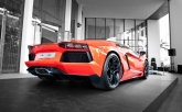 Mr. Stephan mentioned the designers taking a different approach when they were creating the Aventador. While supercars of past had top speed as a priority, followed by acceleration and then handling, the Aventador was a complete switch - reversing the list and put handling at the top.