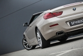 The rear view is perhaps the most stunning. The car has a wide and flat stance, with its trapezoid exhaust tips, 19