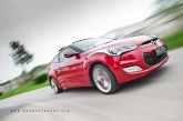 "For most part, the Veloster drives very well. The steering feels accurate, there's little body roll, the brakes are strong and assuring, the gearbox swaps between cogs smoothly even when you're doing it the ""+/-"" way. And there's good composure while roving bumpy roads at speed. Importantly, with or without traction control working, the front suspension does a grand job of transferring all the power to the road without undue tricks (what understeer?)."