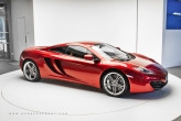 The luscious MP4-12C in Volcano Red was the beauty among the thorns at the launch.