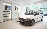 This new service centre, like the first Volkswagen Centre located in Alexandra Road, offers a showroom space for a wide range of VW models and also an accessories corner for customers to browse and purchase. With a floor area of 93,421 square feet, up to eight different models can be displayed at any time.
