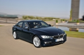 Powered by BMW TwinPower Turbo technology, the new four-cylinder engine has enabled the new BMW 320i with an all-round improvement against its predecessor. It now develops a maximum of 184 hp at 5,000 rpm (+8%) and peak torque of 270 Nm at just 1,250  4,500 rpm (+22%). With an 8-speed sport automatic transmission, it can further sprint from naught to 100km/h in just 7.6 seconds, which is 2.2 seconds faster than before. The new BMW 320i is also highly efficient and friendly to the environment with a fuel consumption rating of just 6.0 litres/100km (+8%) and CO2 emissions of 139 g/km (+7%), thanks to Efficient Dynamics.