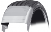To achieve the lower noise levels now expected by consumers, even those running low profile tyres, Falken introduced phase-shifted tread bars. The rounder shoulder contributes to the significantly lower rolling and pass-by noise. The new Azenis FK453 range will comprise 62 different sizes (25 to 50 series), making it applicable for a significant number of cars.