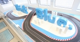 Novel displays like this pedal-bike driven slot-car racetrack require visitors to pedal enough energy to get the cars racing around the circuit.