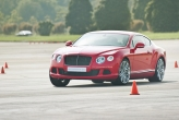 Held at the Changi Exhibition Centre, the driving experience was held over four days for media and customers from around Asia. Instructors from England were at hand to guide participants through the custom course which displayed the prowess of the cars.