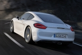 Extra features, larger glass surfaces and larger wheels offset some of the weight savings, yet the DIN weights of all sport coupés are lighter than those of previous models, and a standard Porsche Cayman S weighs 30 kg less.