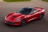 The new car boasts 450 bhp from an all new LT1 GM V8, making it the most powerful 'base model' corvette of all time. It also has 65Nm more low-end torque than the outgoing model. The exhausts are also less restrictive than the previous  Corvette; the four exhausts each measuring 2.75 inches, compared to 2.6 inches on its predecessor. This results in improved air flow of up to 13%. All this adds up to a century sprint time of less than 4 seconds.