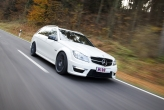 "To maximise driving feedback, the car has to be set up just right. KW takes care of this by allowing the driver to adjust the characteristics of the front and rear dampers independently, while still remaining true to the high safety standards of the C63 AMG set by Mercedes Benz. The ""Comfort"" damper setup has a very soft damping (displayed in the App with 0%), while the ""Sport+"" damper setup is much harder(displayed in the App with 100%). However, controlling the dampers via the app is an option that involves the installation of a W-LAN module. Once that is installed, the unit uses secured WiFi to communicate with the iPhone."