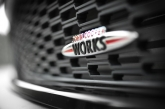Of course, JCW emblems are found all over, in the front, at the rear, on the scuff plates, steering wheel and even on the engine bay cover.