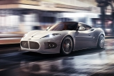 Now however, they have unveiled a new, smaller mid-engined sports car to rival the Porsche 911: the B6 Venator. Currently still a concept, it is slated to begin production for most markets in early 2014, and for North America in Autumn 2014.