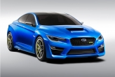 The WRX concept has been designed as a ready-to-rally 4 door sedan. With a much lower and wider stance, it looks a whole lot more aggressive than the current car. To make the car even more aggressive, Subaru has ditched the tiny grille of the current car and have gone for an extremely pronounced front meshed grille and large air intake. The front end is then rounded off by a large bonnet scoop. The rear of the car has received some rather un-Subaru-like cues too; Subaru has ditched the WRX's huge wing and replaced it with a BMW M3-esque lip spoiler. The whole package certainly looks smart, and knowing Subaru, will probably go like stink too.
