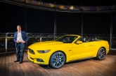 Mustang Unveiled At The Burj Khalifa