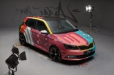 The Fabia 'Art Car'