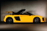 New R8 Spyder Launched In UK - SG, Hold on