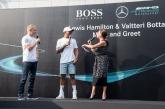 Hamilton, Bottas and the new E63 S