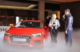 Audi On Ice! New A1 Sportback launched in Singapore.