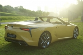 A V8 to Savour   Lexus LC 500 Convertible