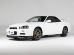 This is what a brand new, 10km Nissan Skyline GT-R R34 looks like