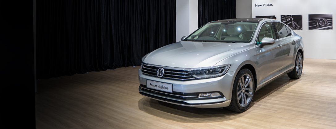 The new Volkswagen Passat is in town.