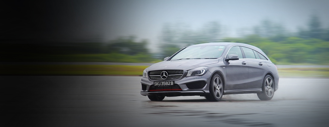 We drive the new CLA250 Shooting Brake.