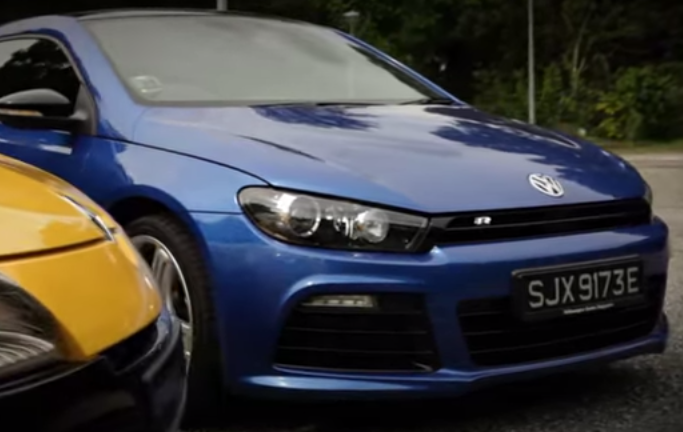 Volkswagen Scirocco R and Renault Megane RS face-off